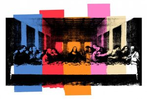 """(c) """"The Last Supper"""" by Andy Worhol"""